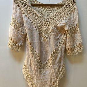 Other - Chic hippy woven coverup